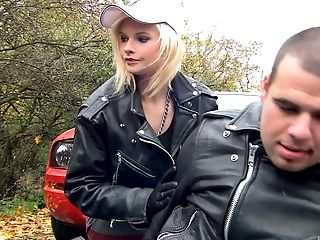 Anal Sex, Blonde, Couple, Experienced, Hardcore, Leather, Tarra White,
