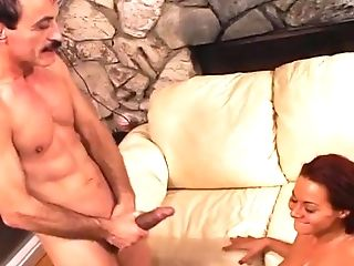 Anal Sex, Double Penetration, Ginger, Old And Young, Rough, Sandra Romain, Threesome,