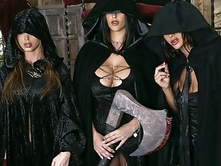 Angelina Valentine, Big Tits, Blowjob, Boots, Carmella Bing, Dick, Facial, Ffmm, Group Sex, Master,