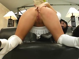 Anal Sex, Blowjob, Clamp, Cowgirl, Doggystyle, From Behind, Handjob, Hardcore, High Heels, Long Hair,