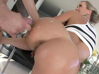 Ass, Babe, Big Ass, Big Cock, Blonde, Brandi Love, From Behind, Hardcore, Housewife, Mature,