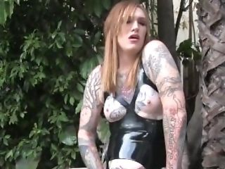 Ass, Babe, BDSM, Big Ass, Bold, Chubby, Close Up, Goth, Jerking, Long Hair,