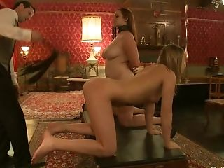 BDSM, Bella Rossi, Cherry Torn, Fetish, Group Sex, Jessie Cox, Topless,