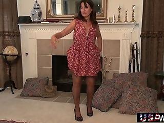 American, Brunette, Clit, Fingering, Hairy, HD, Jerking, Mature, Nylon, Old,