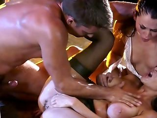 Bar, Big Tits, Cute, Doggystyle, Facesitting, Fake Tits, HD, Lingerie, Missionary, Oral Sex,