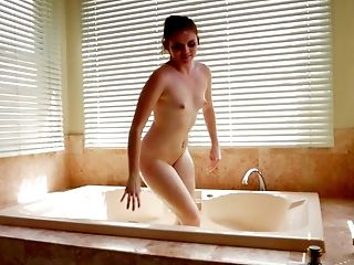 Bathroom, Beauty, Boobless, Brunette, Cute, Horny, Slut, Small Tits, Teen, Whore,