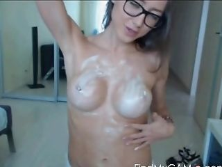 Babe, Cute, Dirty, Fake Tits, Glasses, Model, Nude, Sexy, Solo, Webcam,