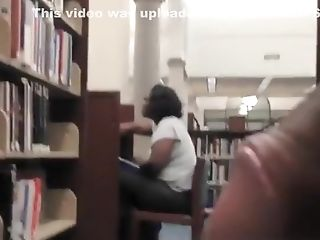 Black, Hidden Cam, Jerking, Librarian, Masturbation,