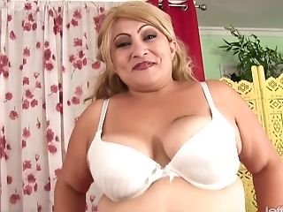 Amazing, BBW, Blonde, Bold, Chubby, Close Up, Fat, Fingering, Horny, Jerking,