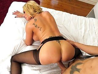 Big Tits, Blonde, Briana Banks, Couple, Cum On Tits, Cumshot, Cute, Doggystyle, Fake Tits, Hardcore,