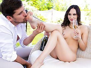 Anal Sex, Ass, Babe, Blowjob, Boobless, Brunette, Cumshot, Curly, European, Feet,