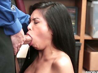 Ass, Babe, Big Tits, Blowjob, Brunette, Cumshot, Dick, Ember, Ethnic, Facial,