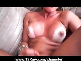 Anal Sex, Bareback, Big Ass, Big Tits, Guy Fucks Shemale, HD, Huge Tits, Nature, Outdoor, Shemale,