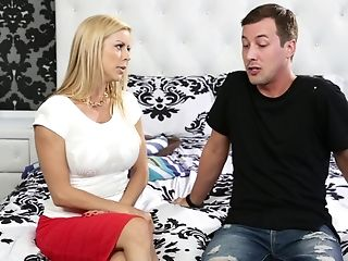 Alexis Fawx, Ass, Blonde, Blowjob, Brutal, Cowgirl, Cute, Doggystyle, FFM, Hardcore,