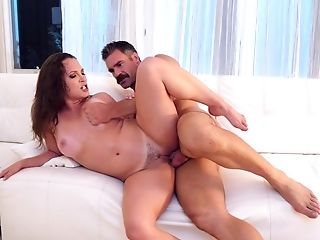 Babe, Blowjob, Couch, Cowgirl, Cum, Cum In Mouth, Cumshot, Doggystyle, Facial, HD,