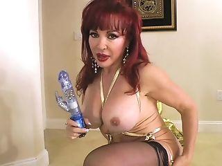 Babe, Mature, MILF, Model, Pornstar, Pussy, Redhead, Sex Toys, Sexy Vanessa, Solo,