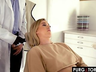 Beauty, Blonde, Blowjob, Couple, Dentist, Hardcore, Long Hair, Missionary, Natural Tits, Oral Sex,